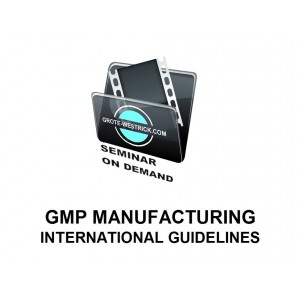 BSoD-02_GMP Manufacturing - International Guidelines